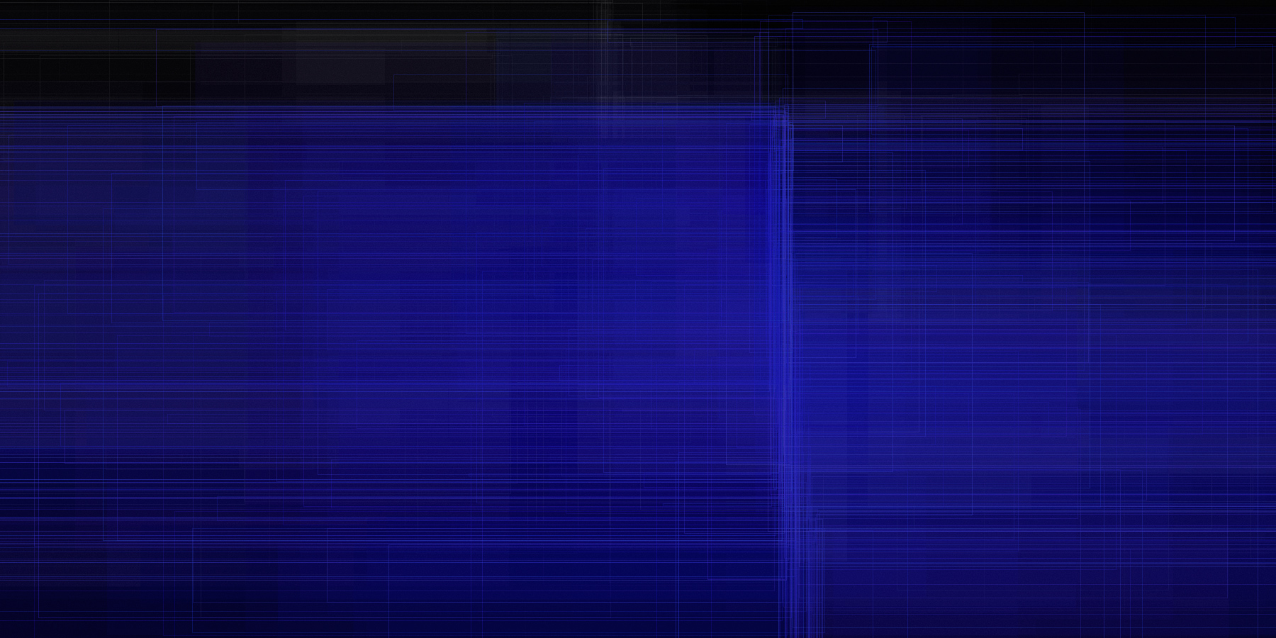 Polygraph, blau #009
